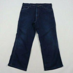 1970s Wrangler Western Cowboy Bootcut Denim Jeans